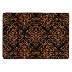 DAMASK1 BLACK MARBLE & RUSTED METAL (R) Samsung Galaxy Tab 8.9  P7300 Flip Case