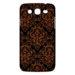 DAMASK1 BLACK MARBLE & RUSTED METAL (R) Samsung Galaxy Mega 5.8 I9152 Hardshell Case
