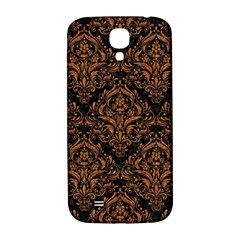 DAMASK1 BLACK MARBLE & RUSTED METAL (R) Samsung Galaxy S4 I9500/I9505  Hardshell Back Case