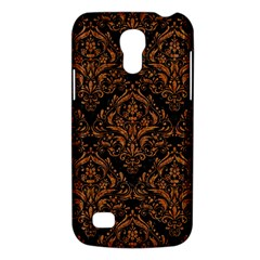 DAMASK1 BLACK MARBLE & RUSTED METAL (R) Galaxy S4 Mini