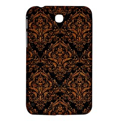 DAMASK1 BLACK MARBLE & RUSTED METAL (R) Samsung Galaxy Tab 3 (7 ) P3200 Hardshell Case