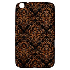 DAMASK1 BLACK MARBLE & RUSTED METAL (R) Samsung Galaxy Tab 3 (8 ) T3100 Hardshell Case