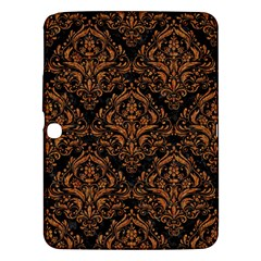 DAMASK1 BLACK MARBLE & RUSTED METAL (R) Samsung Galaxy Tab 3 (10.1 ) P5200 Hardshell Case