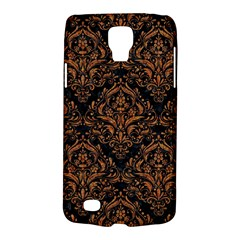 DAMASK1 BLACK MARBLE & RUSTED METAL (R) Galaxy S4 Active