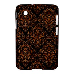 DAMASK1 BLACK MARBLE & RUSTED METAL (R) Samsung Galaxy Tab 2 (7 ) P3100 Hardshell Case