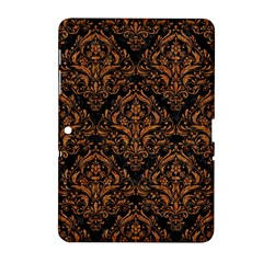 DAMASK1 BLACK MARBLE & RUSTED METAL (R) Samsung Galaxy Tab 2 (10.1 ) P5100 Hardshell Case