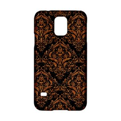 DAMASK1 BLACK MARBLE & RUSTED METAL (R) Samsung Galaxy S5 Hardshell Case