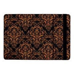 DAMASK1 BLACK MARBLE & RUSTED METAL (R) Samsung Galaxy Tab Pro 10.1  Flip Case