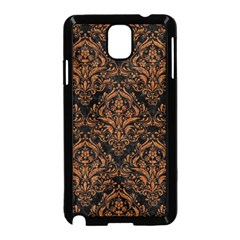 DAMASK1 BLACK MARBLE & RUSTED METAL (R) Samsung Galaxy Note 3 Neo Hardshell Case (Black)