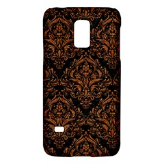 DAMASK1 BLACK MARBLE & RUSTED METAL (R) Galaxy S5 Mini