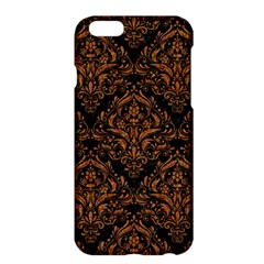 DAMASK1 BLACK MARBLE & RUSTED METAL (R) Apple iPhone 6 Plus/6S Plus Hardshell Case