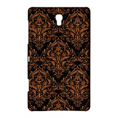 DAMASK1 BLACK MARBLE & RUSTED METAL (R) Samsung Galaxy Tab S (8.4 ) Hardshell Case