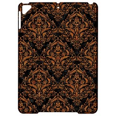 DAMASK1 BLACK MARBLE & RUSTED METAL (R) Apple iPad Pro 9.7   Hardshell Case
