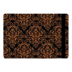DAMASK1 BLACK MARBLE & RUSTED METAL (R) Apple iPad Pro 10.5   Flip Case