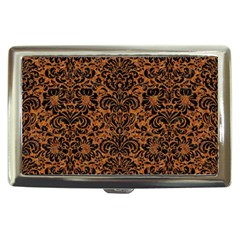 Damask2 Black Marble & Rusted Metal Cigarette Money Cases by trendistuff