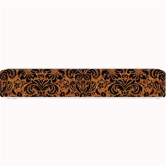 DAMASK2 BLACK MARBLE & RUSTED METAL Small Bar Mats