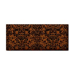 Damask2 Black Marble & Rusted Metal Cosmetic Storage Cases by trendistuff