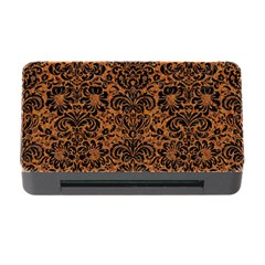 Damask2 Black Marble & Rusted Metal Memory Card Reader With Cf by trendistuff