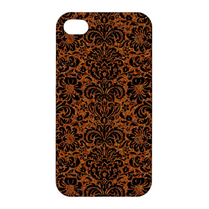 DAMASK2 BLACK MARBLE & RUSTED METAL Apple iPhone 4/4S Premium Hardshell Case