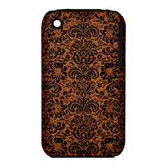 DAMASK2 BLACK MARBLE & RUSTED METAL iPhone 3S/3GS