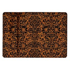 DAMASK2 BLACK MARBLE & RUSTED METAL Samsung Galaxy Tab 10.1  P7500 Flip Case