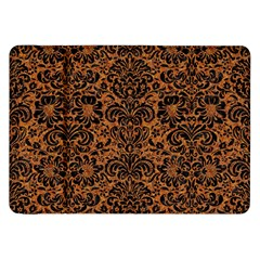 Damask2 Black Marble & Rusted Metal Samsung Galaxy Tab 8 9  P7300 Flip Case
