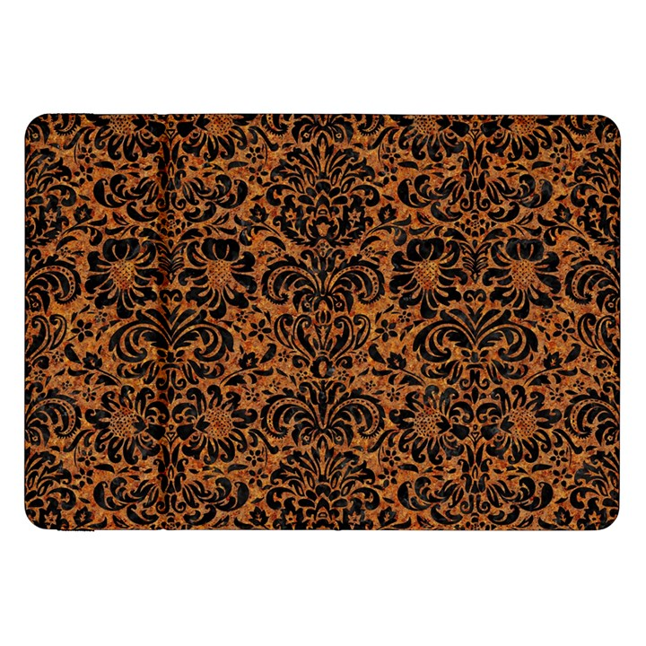 DAMASK2 BLACK MARBLE & RUSTED METAL Samsung Galaxy Tab 8.9  P7300 Flip Case