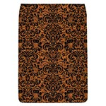 DAMASK2 BLACK MARBLE & RUSTED METAL Flap Covers (L)  Front