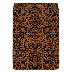DAMASK2 BLACK MARBLE & RUSTED METAL Flap Covers (S)