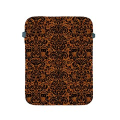 DAMASK2 BLACK MARBLE & RUSTED METAL Apple iPad 2/3/4 Protective Soft Cases
