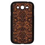 DAMASK2 BLACK MARBLE & RUSTED METAL Samsung Galaxy Grand DUOS I9082 Case (Black) Front