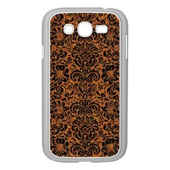 DAMASK2 BLACK MARBLE & RUSTED METAL Samsung Galaxy Grand DUOS I9082 Case (White)