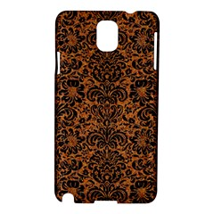 DAMASK2 BLACK MARBLE & RUSTED METAL Samsung Galaxy Note 3 N9005 Hardshell Case