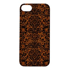 Damask2 Black Marble & Rusted Metal Apple Iphone 5s/ Se Hardshell Case by trendistuff