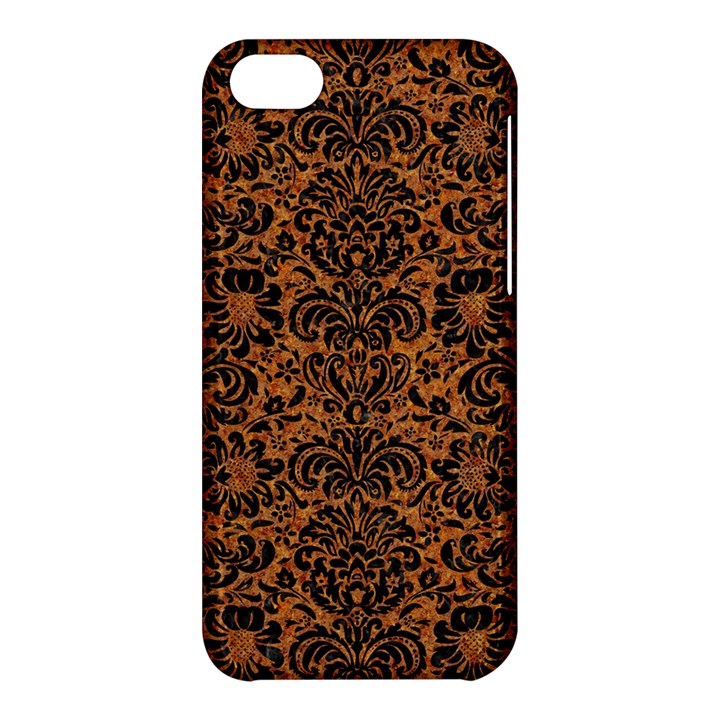 DAMASK2 BLACK MARBLE & RUSTED METAL Apple iPhone 5C Hardshell Case