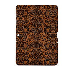 Damask2 Black Marble & Rusted Metal Samsung Galaxy Tab 2 (10 1 ) P5100 Hardshell Case  by trendistuff