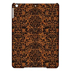 DAMASK2 BLACK MARBLE & RUSTED METAL iPad Air Hardshell Cases