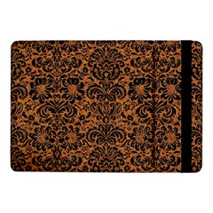 Damask2 Black Marble & Rusted Metal Samsung Galaxy Tab Pro 10 1  Flip Case by trendistuff