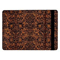 DAMASK2 BLACK MARBLE & RUSTED METAL Samsung Galaxy Tab Pro 12.2  Flip Case