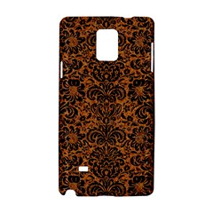 Damask2 Black Marble & Rusted Metal Samsung Galaxy Note 4 Hardshell Case