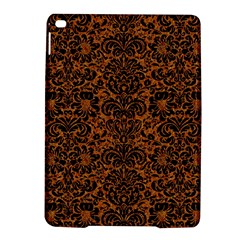 Damask2 Black Marble & Rusted Metal Ipad Air 2 Hardshell Cases by trendistuff