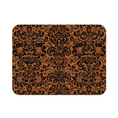 DAMASK2 BLACK MARBLE & RUSTED METAL Double Sided Flano Blanket (Mini)