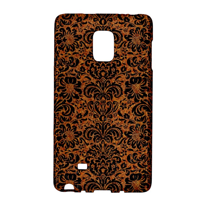 DAMASK2 BLACK MARBLE & RUSTED METAL Galaxy Note Edge