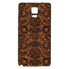 DAMASK2 BLACK MARBLE & RUSTED METAL Galaxy Note 4 Back Case