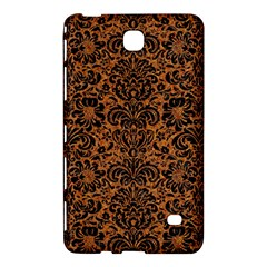 Damask2 Black Marble & Rusted Metal Samsung Galaxy Tab 4 (8 ) Hardshell Case  by trendistuff