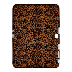 DAMASK2 BLACK MARBLE & RUSTED METAL Samsung Galaxy Tab 4 (10.1 ) Hardshell Case