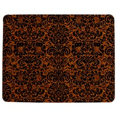 DAMASK2 BLACK MARBLE & RUSTED METAL Jigsaw Puzzle Photo Stand (Rectangular)