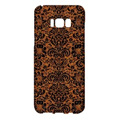 DAMASK2 BLACK MARBLE & RUSTED METAL Samsung Galaxy S8 Plus Hardshell Case