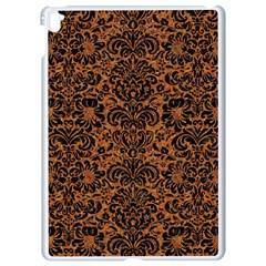 Damask2 Black Marble & Rusted Metal Apple Ipad Pro 9 7   White Seamless Case by trendistuff
