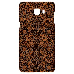 Damask2 Black Marble & Rusted Metal Samsung C9 Pro Hardshell Case  by trendistuff